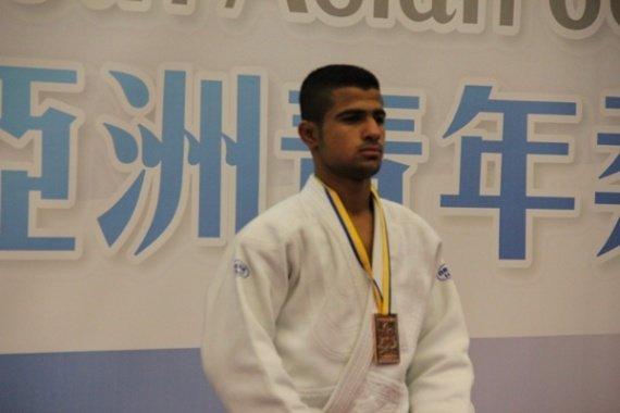 یک نقره تنها سهم جودو ایران در روز نخست رقابت های جودو قهرمانی آسیا