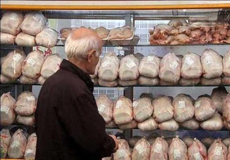 استمرار ثبات نرخ مرغ در بازار، جوجه ریزی شب عید در معرض خطر است