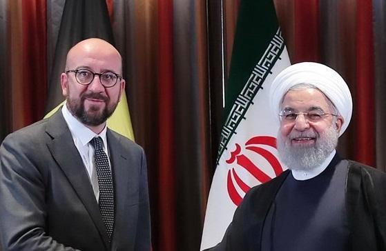 تماس تلفنی رئیس شورای اروپا با روحانی درباره برجام