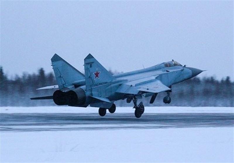 مانورهای مشترک میگ-31 و بمب افکن سوخو-24 در روسیه