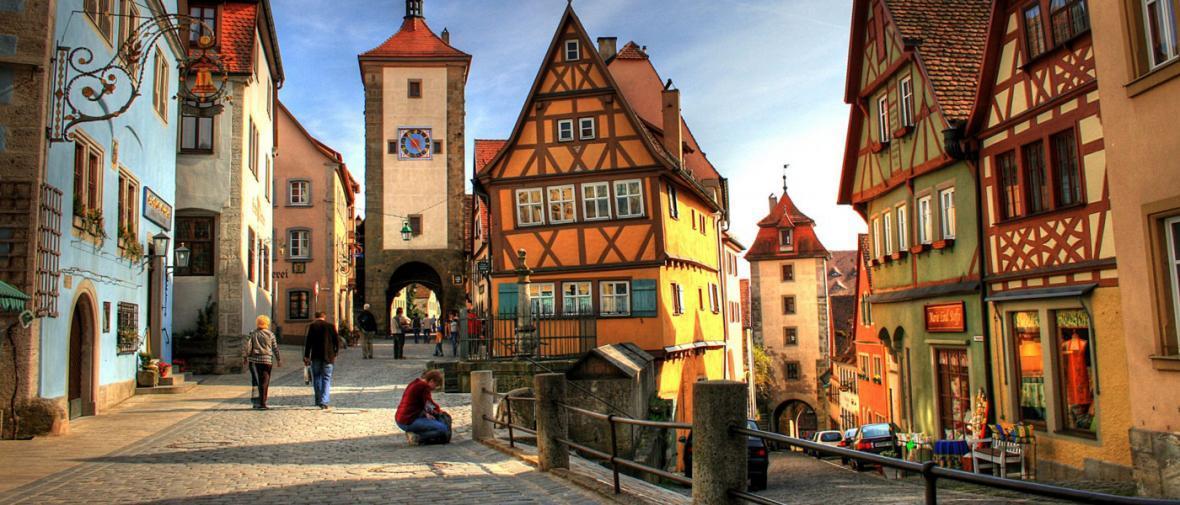 10 شهر تاریخی و افسانه ای در آلمان