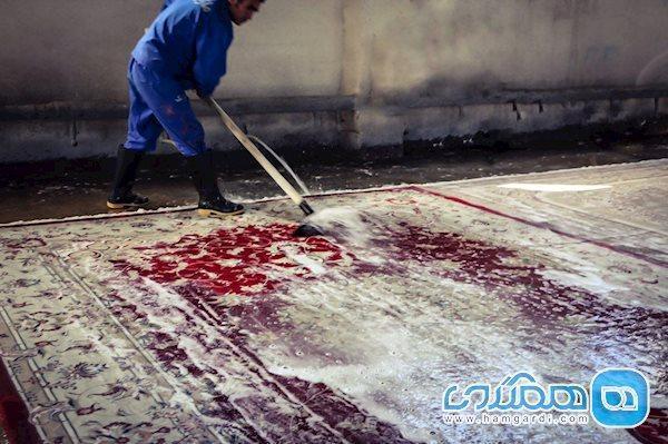کرونا به وسیله شستن فرش در قالیشویی ها منتقل می گردد؟