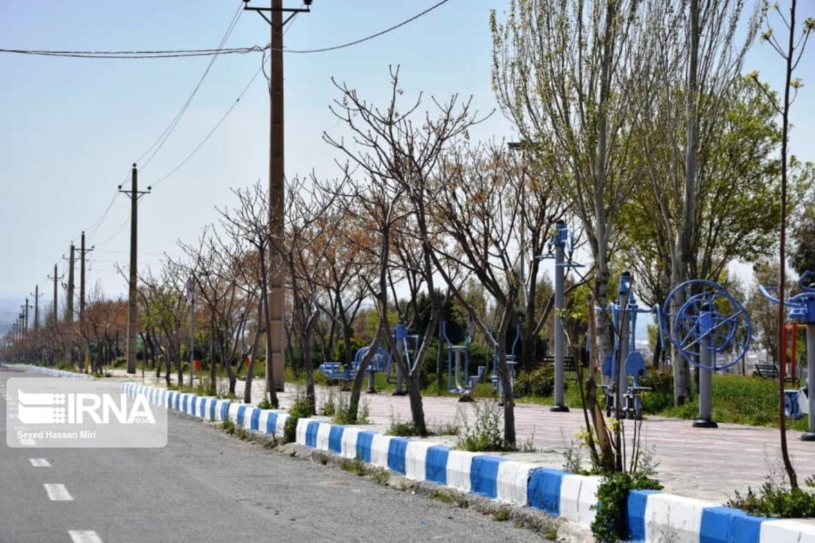 خبرنگاران کاهش 95 درصدی تردد شهری البرز در13 فروردین 99