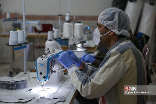 ماجرای شرکتی دانش بنیان که با حمایت صندوق نوآوری روزانه 5 هزار ماسک فراوری می نماید