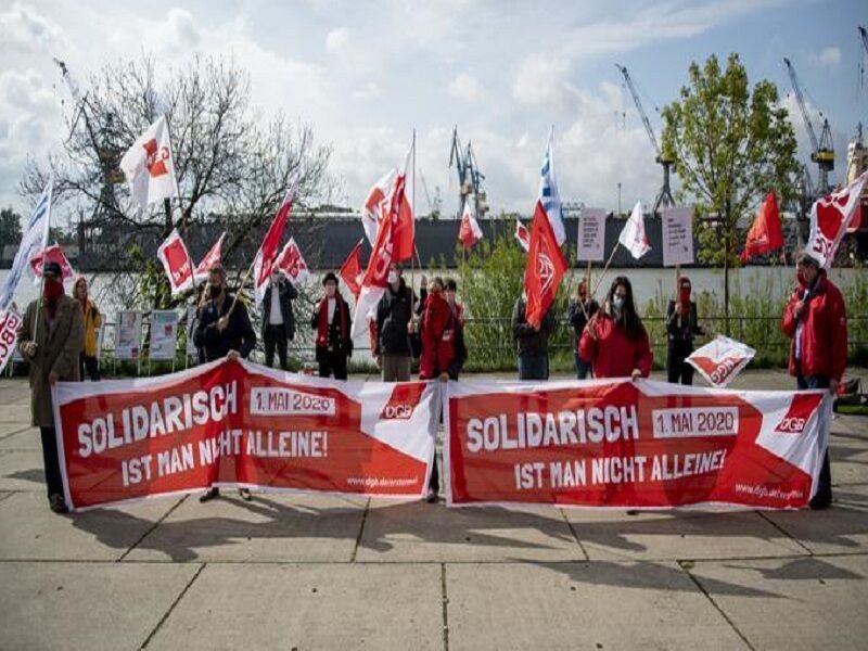 درخواست مخالفان دولت آلمان برای برگزاری راهپیمایی