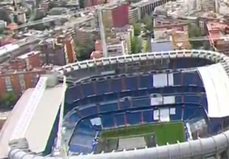 موافقت لالیگا با تغییر استادیوم خانگی رئال مادرید
