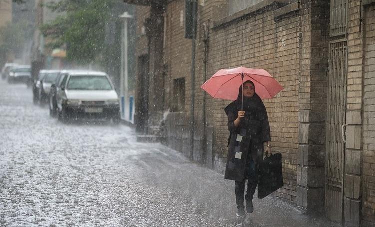هشدار هواشناسی: رگبار باران 14 استان را فرا می گیرد