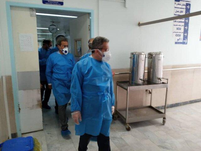 افتتاح چند پروژه عمرانی بهداشت و درمان در کلیبر