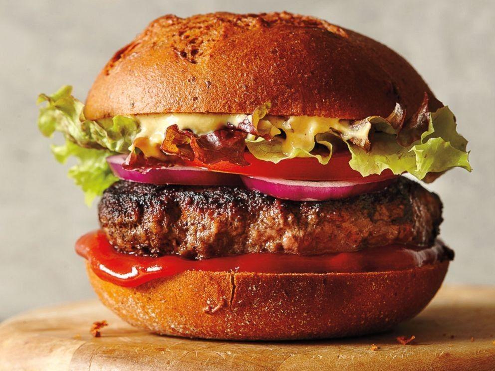 طرز تهیه همبرگر خانگی به سبک مک دونالد اصل