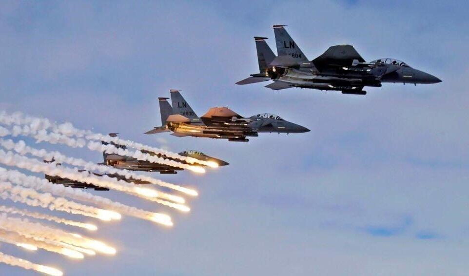 حمله ائتلاف بین المللی به اهداف داعش در عراق