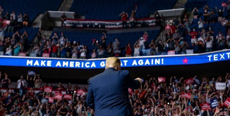 علیرغم نقدها زیاد، ترامپ دومین همایش انتخاباتی خود را برگزار می نماید