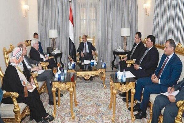 دیدار عادل الجبیر با فرستاده سازمان ملل در امور یمن