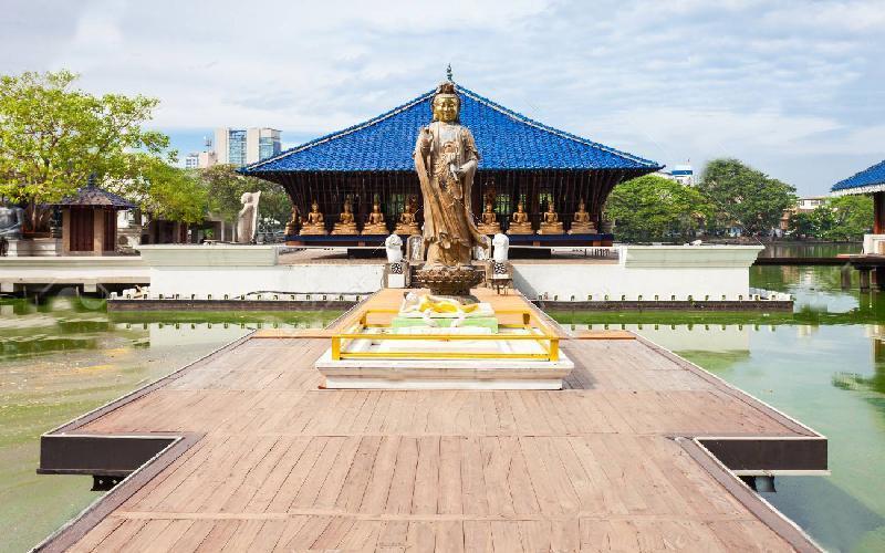 معبد سیما مالاکا کلمبو
