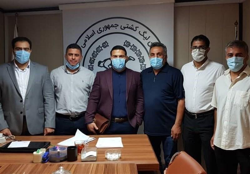 جلسه کادر فنی تیم کشتی استقلال با سازمان لیگ
