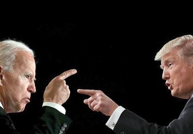 ستاد انتخاباتی بایدن فروش تیشرت خفه شو مرد را شروع کرد