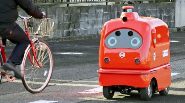 ربات پستچی وارد توکیو شد