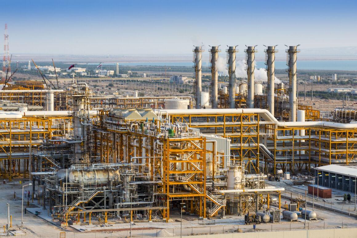 ظرفیت فرآورش گاز ایران حدود 10 درصد افزایش می یابد