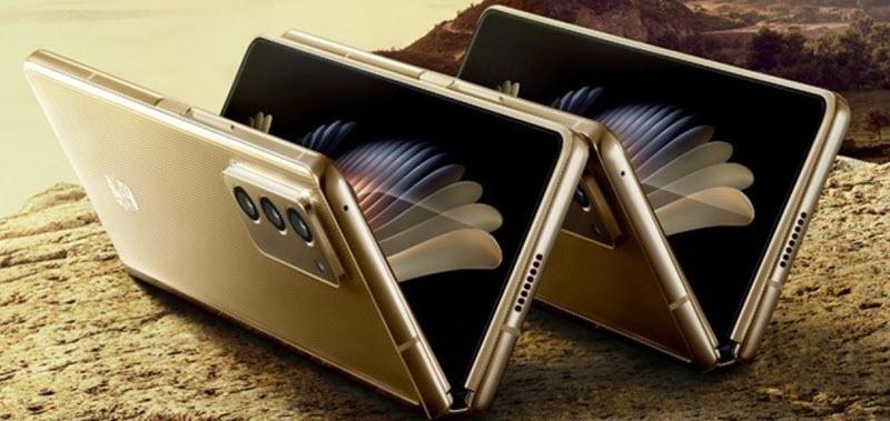 سامسونگ از نسخه جدیدی از زد فولد 2 یعنی W21 برای چین رونمایی کرد