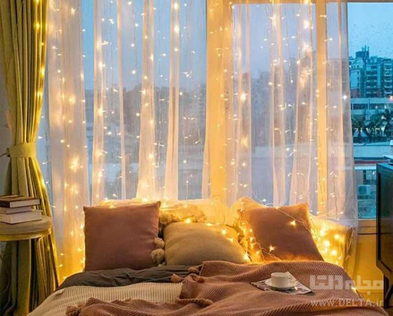 ایده هایی برای نورپردازی اتاق خواب