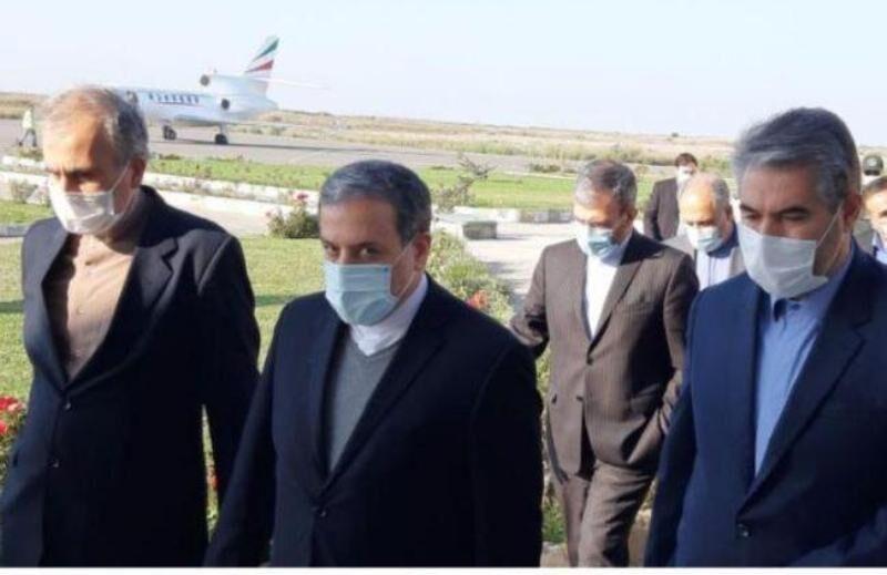 خبرنگاران عراقچی وارد آنکارا شد