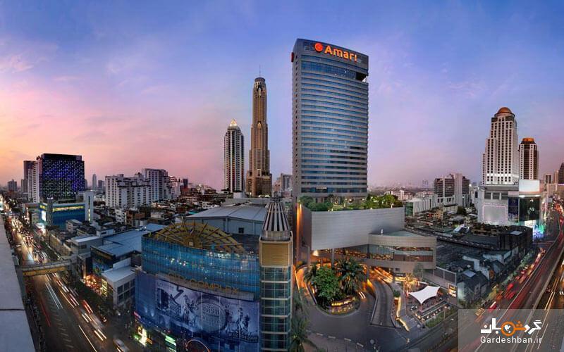 هتل 5 ستاره آماری واتر گیت بانکوک، برترین گزینه اقامتی میان گردشگران و مسافران