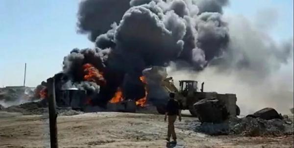 حملات پهپادی به مراکز قاچاق نفت سوریه در حلب