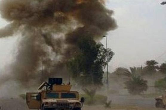 حمله به کاروان نظامی ارتش آمریکا در پایتخت عراق