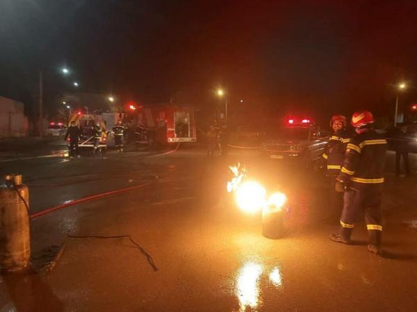 انفجار کپسول گاز مایع در بجنورد 4 مصدوم داشت