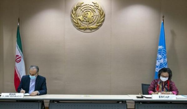 امضای قرارداد مقر اپدیم بین ایران و معاون دبیرکل سازمان ملل