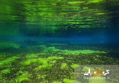 دریاچه آبی؛زلال ترین دریاچه دنیا، عکس
