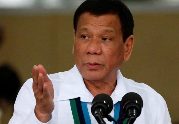 دوترته: شخصا از رئیس جمهور چین برای ارسال واکسن تشکر می کنم