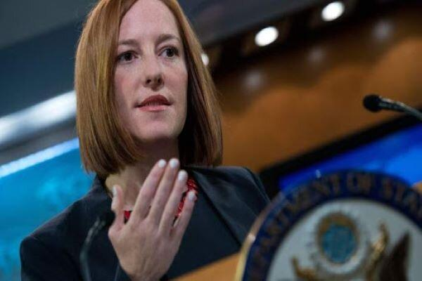 آمریکا: امکان وضع تحریم ها پس ازتوافق ایران وچین را آنالیز می کنیم خبرنگاران