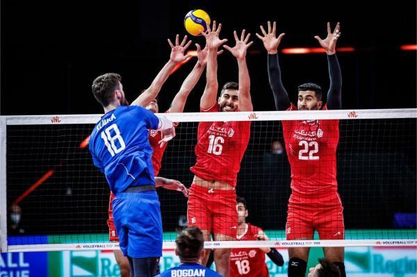لیگ ملت های والیبال، ناکامی سروقامتان ایران مقابل هموطنان آلکنو