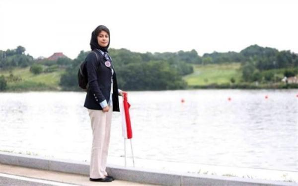 زن ایرانی داور قایقرانی قهرمانی دنیا شد