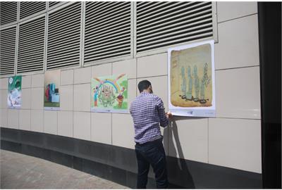 نمایشگاه آثار برگزیده کاریکاتور کارا در ایوان انتظار شروع به کار کرد