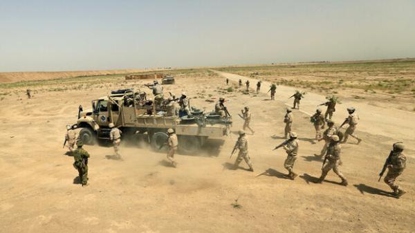 موفقیت حشد شعبیدر کشف و انهدام یک میدان مین متعلق به گروهک داعش