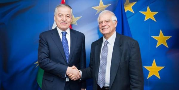 ملاقات وزیر خارجه تاجیکستان با نماینده اتحادیه اروپا در سیاست خارجی
