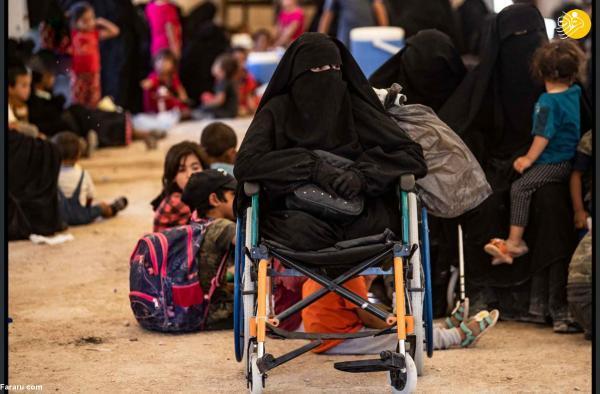 (تصاویر) آزادی ده ها زن و کودک داعشی