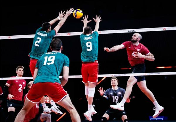 لیگ ملت های والیبال، صدرنشینی روسیه؛ ایران در رده هفتم