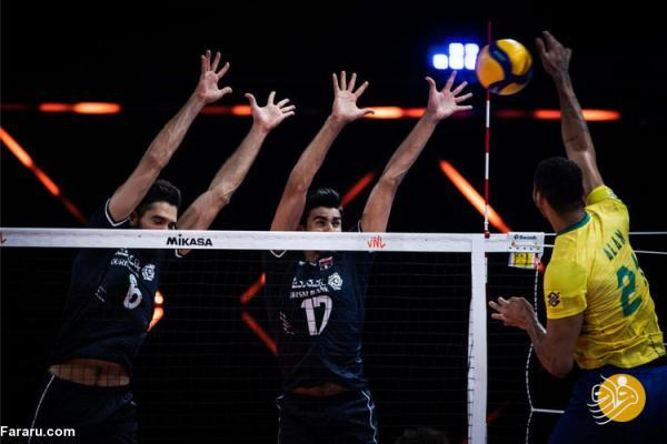 ساعت بازی والیبال ایران - فرانسه