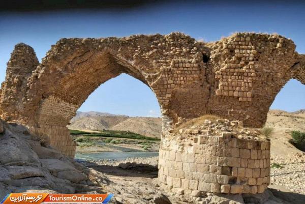 اتمام بازسازی و استحکام بخشی پل تاریخی سیاه پله در کوهدشت لرستان