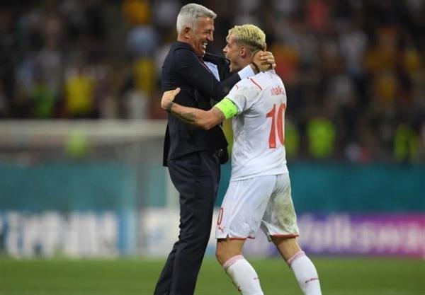 یورو 2020، ژاکا، برترین بازیکن ملاقات فرانسه ، سوئیس شد