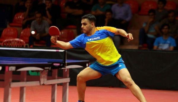 حذف تیم هدایی و احمدیان از مسابقات تنیس روی میز قهرمانی آسیا